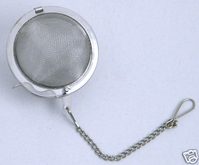 Larger Tea Ball Infuser 2.5 inch (65mm) 18/8 S/Steel.