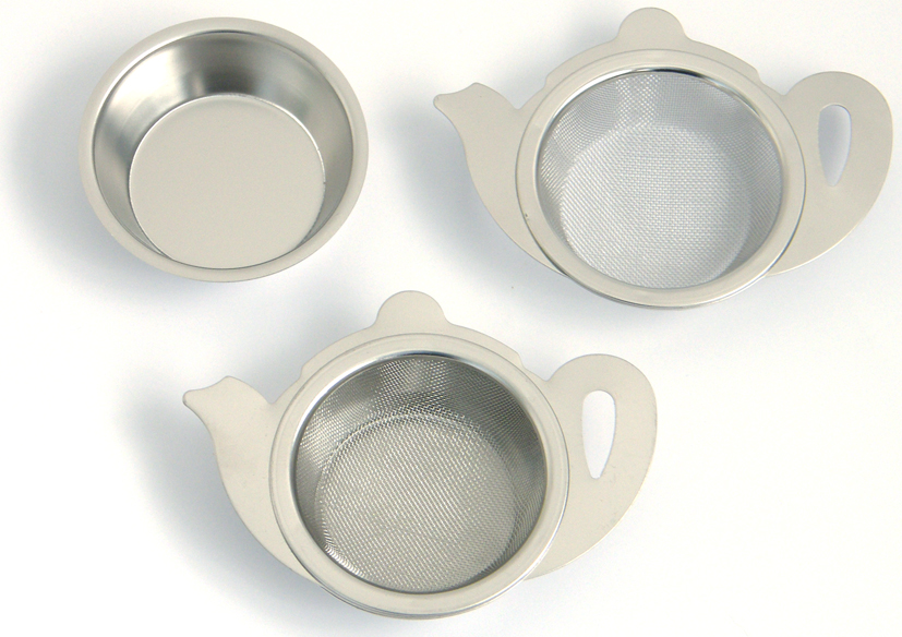 London Teapot 2 Piece Tea Strainer