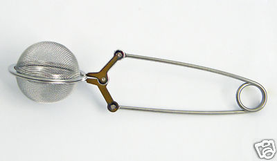 Tea Ball Pincer Infuser 1 Cup Size 18/8 Stainless Steel